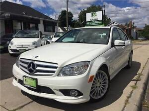 2010 Mercedes-Benz C-Class 4 MATIC LOW KM FINANCING AVAILABLE