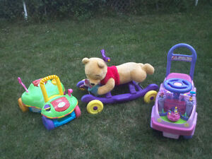 EXCELLENT BABY/TODDLER RIDE-ON, ROCKER, POPPER & PUSH TOYS Cambridge Kitchener Area image 1