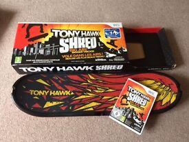 Tony Hawk Shred Snowboard bundle for Wii