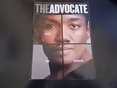Don Lemon  Laverne Cox  Timothy Greenfield   The Advocate Magazine 2013