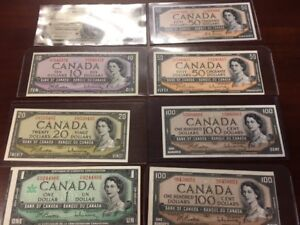 canadian american paper money
