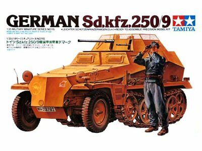 Tamiya 35115 German Sdkfz.250/9 1/35 scale plastic model kit RARE