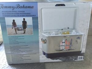 Tommy Bahama Cooler - NEVER USED, STILL IN ORIGINAL BOX