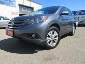 2013 Honda CR-V Touring-1 OWNER,NAVI,R CAM,LEATH,WARANTY,$16795