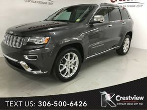 2015 Jeep Grand Cherokee Summit EcoDiesel w/ Sunroof, Navigation