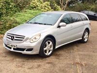 Mercedes R class 2007 3.0 Sport cdi automatic 6 Seater full service history