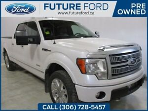 2012 Ford F-150 Platinum | POWER RUNNING BOARDS | MOONROOF AND M