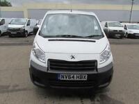 Peugeot Expert 1200 L2 H1 1.6 Hdi 90PS Van DIESEL MANUAL WHITE (2014)