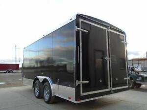 Fully Loaded Enclosed Construction Trailer - 2017 8X16 ATLAS!! London Ontario image 2