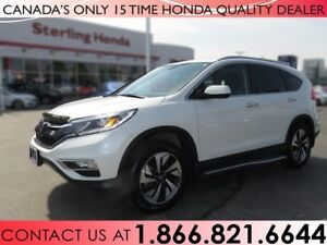 2016 Honda CR-V TOURING | AWD | 1 OWNER | RUNNING BOARDS | NO AC