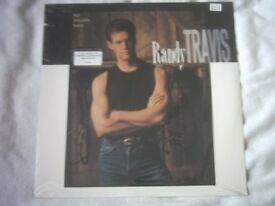 Vinyl LP No Holdin' Back – Randy Travis - US Warner Brothers 759925988 stereo 1989