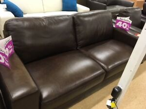 Brand new real leather couch. Never been used yet!