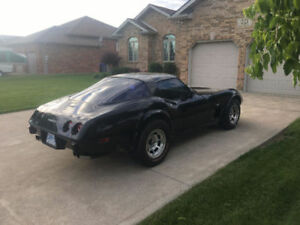 1979 Corvette Coupe with T-Top