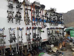 Snowmobile Wrecking Yard!
