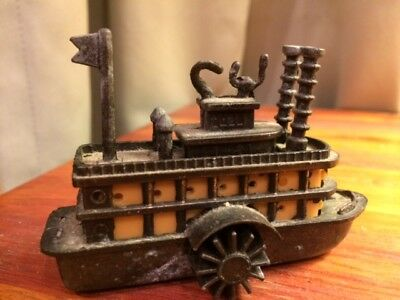 Metal Paddle Wheel Boat Pencil Sharpener Novelty Vintage for sale  Shipping to Canada