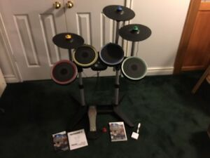 Rock Band 3 Pro-Drum Pro-Cymbals set - Wii
