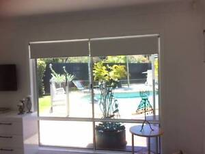 House lot of white block out blinds Mooloolaba Maroochydore Area Preview