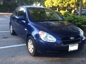 2011 Accent: Reliable commuter car to get you to work or school