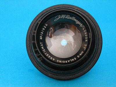 Vintage J. H. Dallmeyer London 5.3inch f4.5Enlarging Lens, Spares or Repair