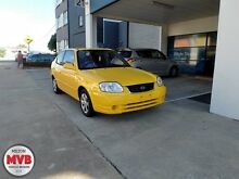 2003 Hyundai Accent LC 1.6 Yellow 5 Speed Manual Hatchback Ascot Brisbane North East Preview