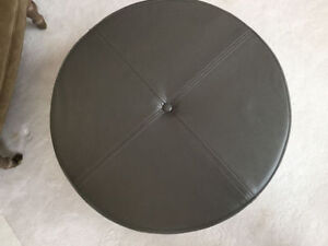 Lovely Basically New Modern Grey Ottoman with a Storage