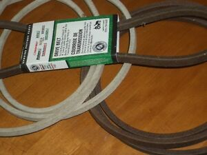 lawn tractor v belts for automatic drive