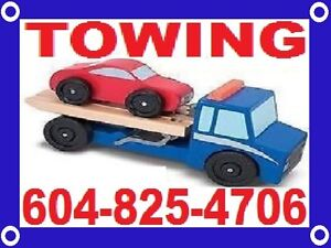 TOW TRUCK*TOWING*LONGER TOWS(604)825-4706 Vancouver-Chilliwack