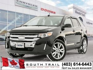 2013 FORD EDGE LIMITED AWD,$190 BW,LOADED, # 587-400-0662