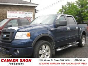2007 Ford F150 FX4 EDITION 4WD , 12M.WRTY+SAFETY $10690