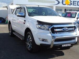 2017 Ford Ranger PX MkII XLT Double Cab White 6 Speed Sports Automatic Utility Albion Park Rail Shellharbour Area Preview