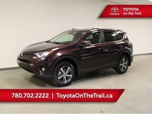 2018 Toyota RAV4 AWD XLE; SUNROOF, SAFETY SENSE, BUTTON START, H