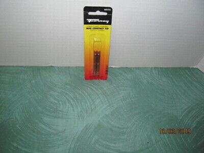 Forney 60172 Mig Welding Tips For Tweco Binzel Or Clarke .035 X 1 Pack Of 4