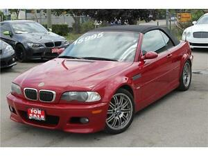 2002 BMW M3 CABRIOLET Certified And E-Tested MANAGERS SPECIAL