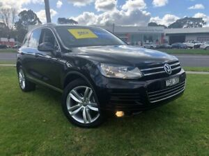 2011 Volkswagen Touareg 7P MY12 V6 FSI Tiptronic 4MOTION Black 8 Speed Sports Automatic Wagon Ferntree Gully Knox Area Preview