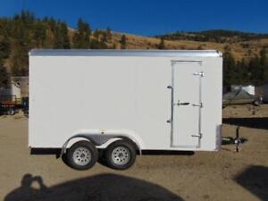 2018 Mirage 7 X 14 Cargo Trailer w. Extra Height & Rear HD Ramp