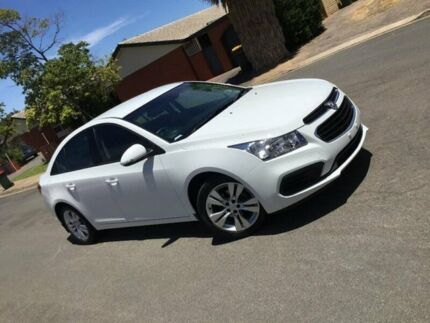 2015 Holden Cruze JH Series II MY15 Equipe White 6 Speed Sports Automatic Sedan Nailsworth Prospect Area Preview