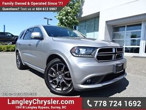 2017 Dodge Durango R/T ACCIDENT FREE w/ ALL-WHEEL DRIVE, LEAT...