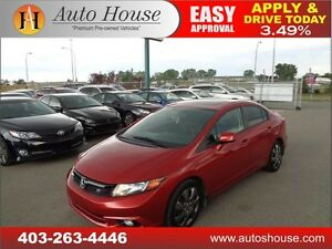 2012 HONDA CIVIC SI WITH LOW KM 28572, NAVIGATION,FULLY LOADED