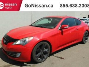 2012 Hyundai Genesis Coupe 3.8L GT: LEATHER, HEATED SEATS, AUTO