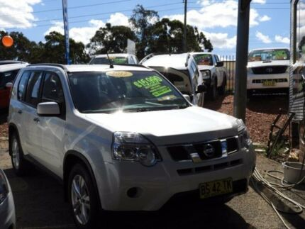 2012 Nissan X-Trail T31 Series IV ST White 1 Speed Constant Variable Wagon Mount Druitt Blacktown Area Preview