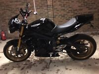 triumph street triple 675 57 plate, may swap for another bike