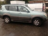 ssangyong rexton for swap or sale £1250 ono