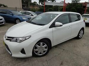 2015 Toyota Corolla ZRE182R MY15 Ascent White 7 Speed CVT Auto Sequential Hatchback Sylvania Sutherland Area Preview