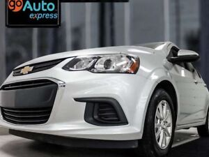 2017 Chevrolet Sonic LT, POWER LOCKS/WINDOWS, REAR CAMERA, ANDRO
