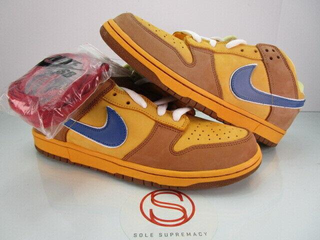 DS Nike Dunk Low Premium SB BROWN ALE 11