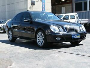 2006 Mercedes-Benz E350 211 MY07 Upgrade Elegance Black 7 Speed Automatic G-Tronic Sedan Condell Park Bankstown Area Preview
