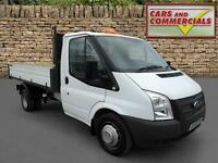 2014 FORD TRANSIT TIPPER 350 MWB 1 Way 1 Stop 125ps
