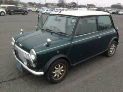 1997 Rover Mini Cooper Green Automatic Coupe Burwood Burwood Area Preview