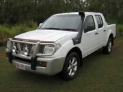 2006 Nissan Navara D40 RX White Automatic Crewcab Ballina Ballina Area Preview