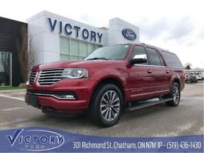 2015 Lincoln Navigator L Leather, Nav, Heated & Cooled Seats, 4x4